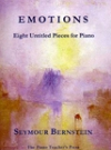 Emotions Eight Untitled Pieces for Piano