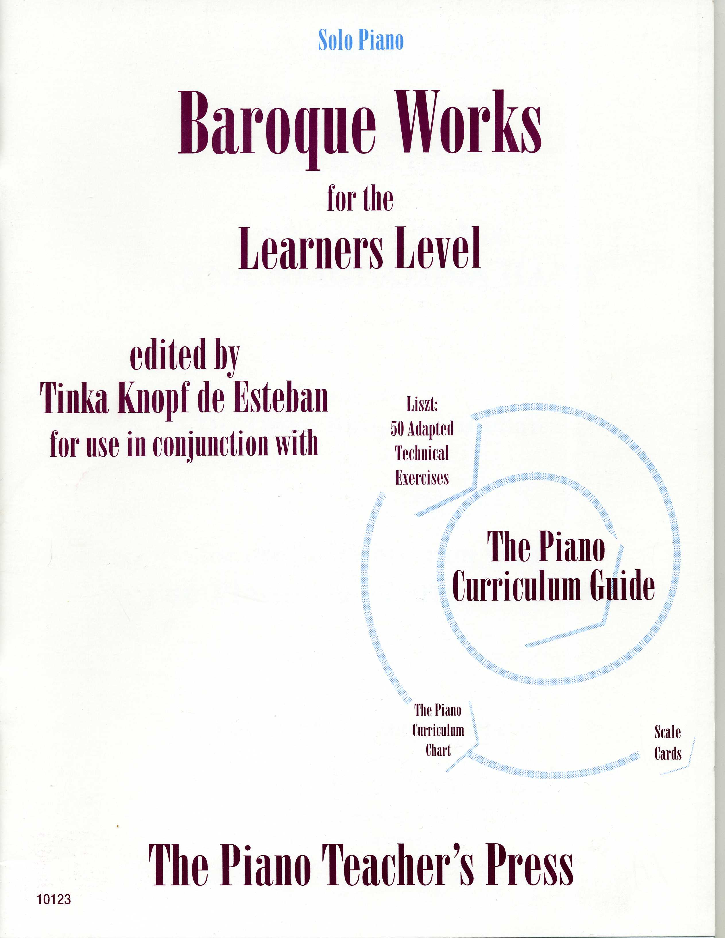 baroque works for the learners level ed by knopf de esteban manduca publications
