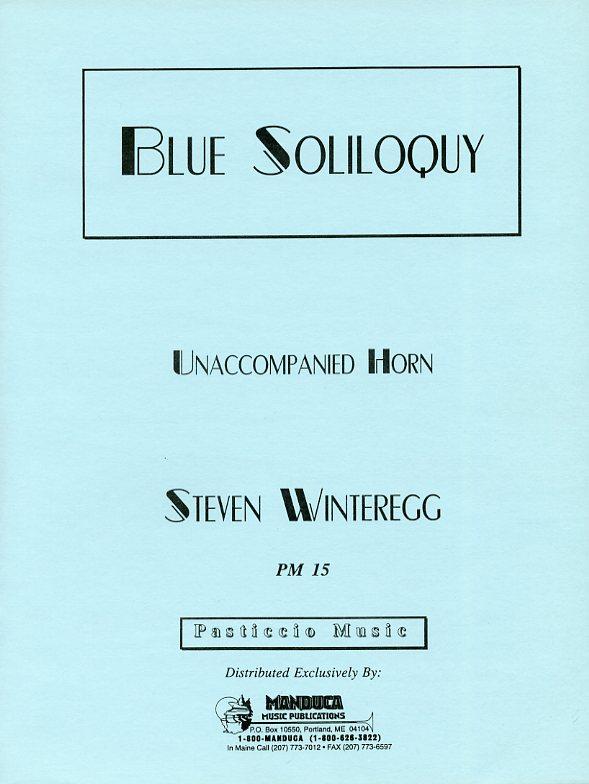 青い独り言(スティーヴン・ウィンターレッグ)(ホルン)【Blue Soliloquy】