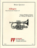 """""""Allegro"""" from Concerto for Trumpet in D"""