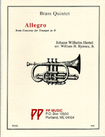 """Allegro"" from Concerto for Trumpet in D"