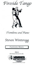 Fireside Tango for Trombone and Piano