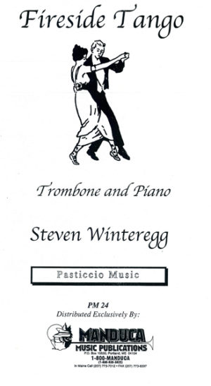 Fireside Tango for Trombone and Piano