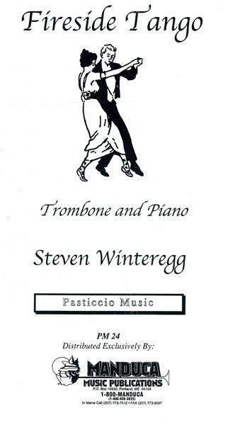 ファイヤーサイド・タンゴ(スティーヴン・ウィンターレッグ)(トロンボーン+ピアノ)【Fireside Tango】