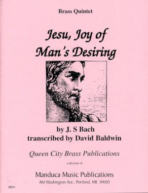 Jesu, Joy of Man's Desiring, J. S. Bach, David Baldwin