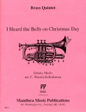 I Heard the Bells on Christmas Day for Brass Quintet, Johnny Marks, C. Warren Kellerhouse