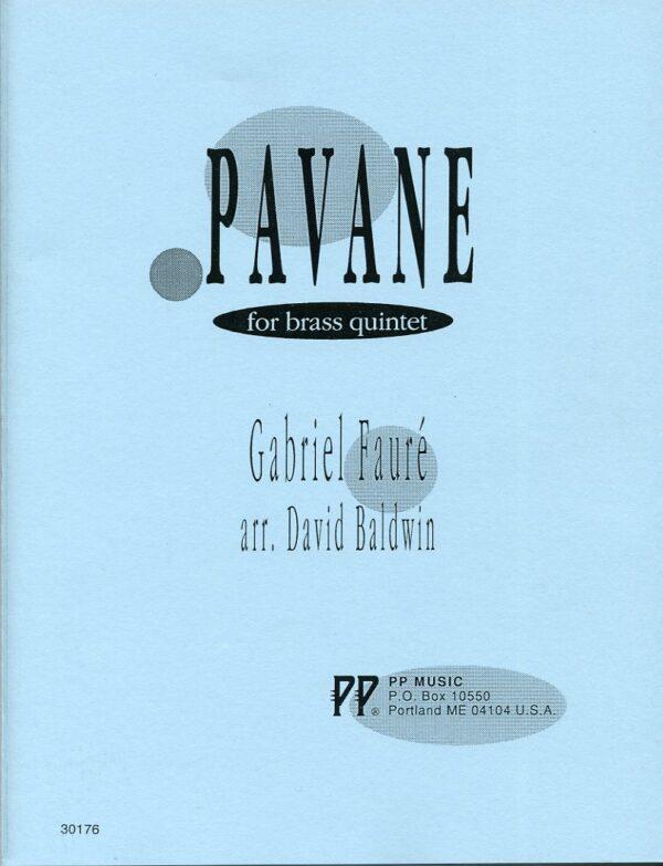 Pavane for Brass Quintet, Gabriel Faure, David Baldwin