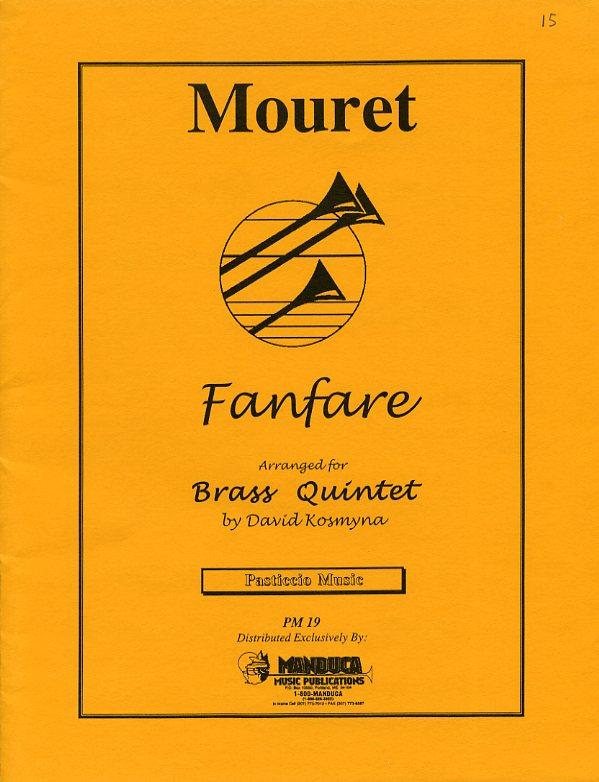 ムーレ・ファンファーレ(ジャン=ジョゼフ・ムーレ)(金管五重奏)【Mouret Fanfare】