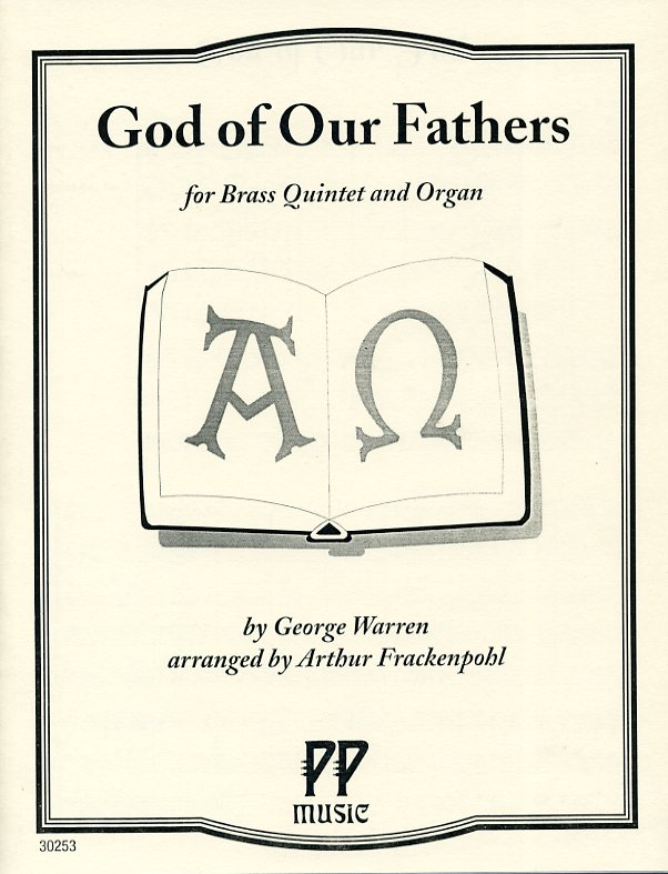 God of our fathers for brass quintet and oragn by warren arr by god of our fathers for brass quintet and organ by george warren thecheapjerseys Images