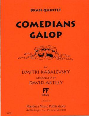 Comedians Galop for Brass Quintet, Dmitri Kabalevsky, David Artley