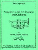 Concert in Eb for Trumpet and Brass Quintet, Haydn, Joel Treybig