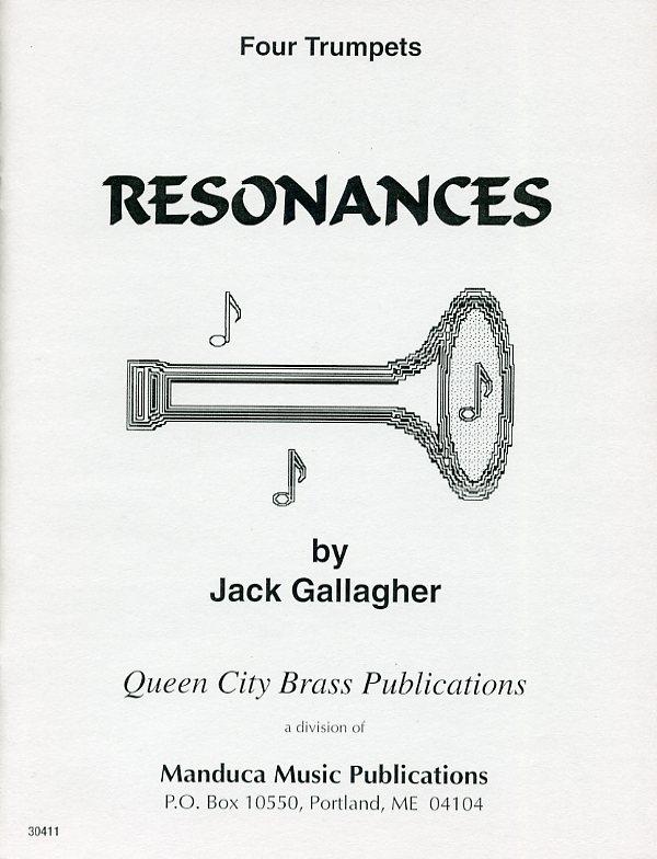 レゾナンス(ジャック・ギャラガー)  (トランペット四重奏)【Resonances】