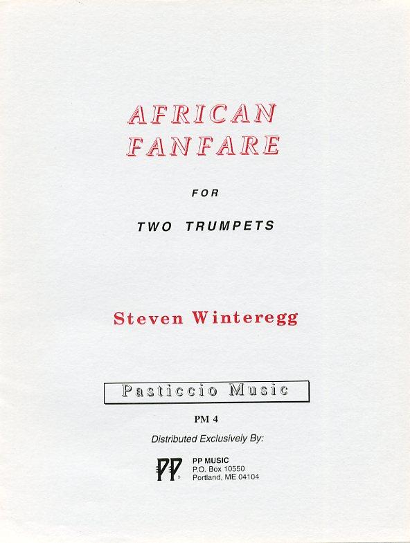 アフリカン・ファンファーレ(スティーヴン・ウィンターレッグ) (トランペット二重奏)【African Fanfare】