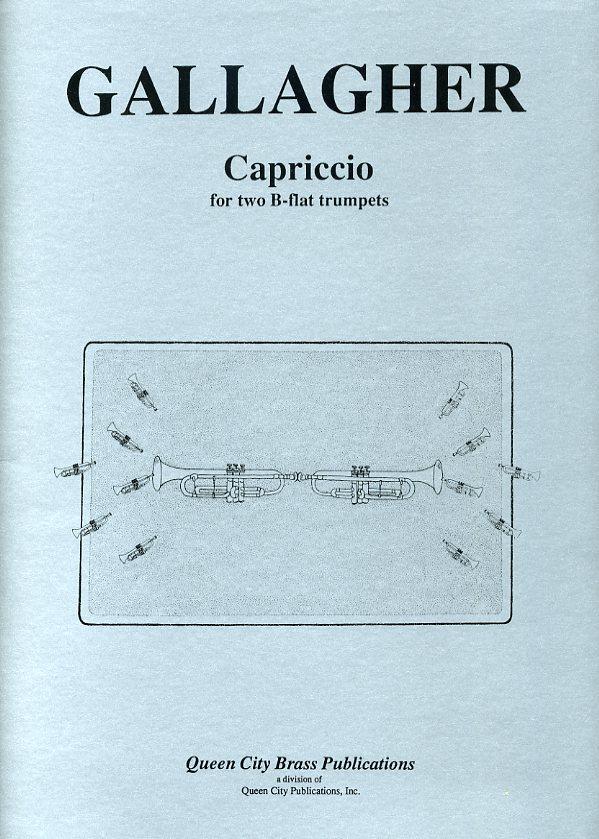 カプリッチョ(ジャック・ギャラガー)  (トランペット二重奏)【Capriccio】