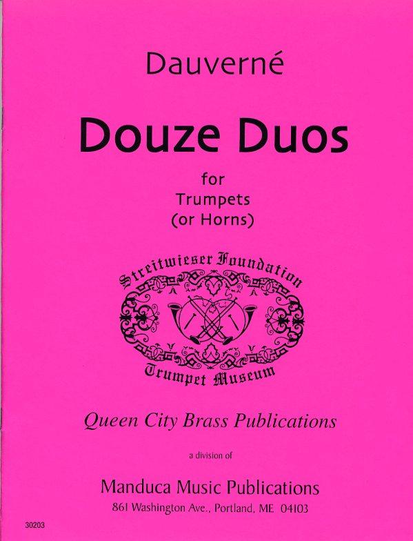 12のデュエット(フランソワ・ドヴェルネ) (トランペット二重奏)【Douze Duos】