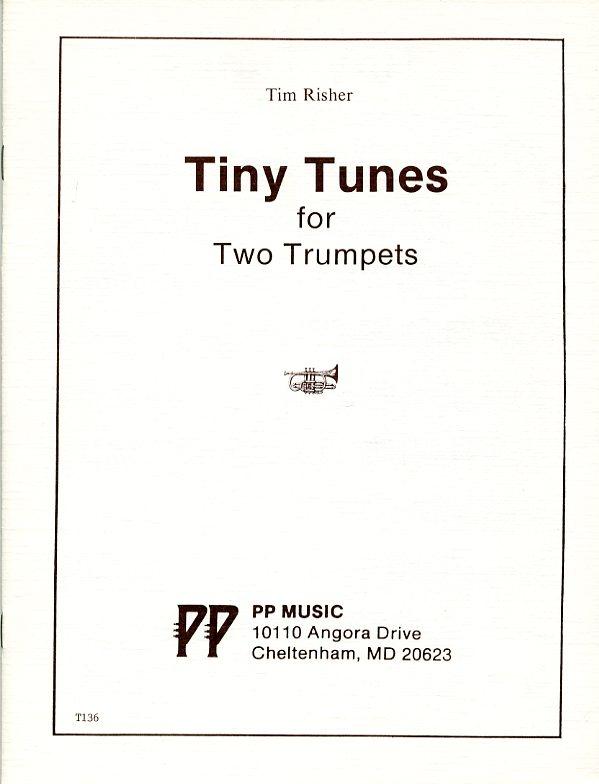 タイニー・チューンズ(ティム・リッシャー) (トランペット二重奏)【Tiny Tunes】