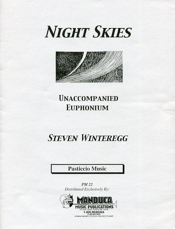 夜空(スティーヴン・ウィンターレッグ)(ユーフォニアム)【Night Skies】