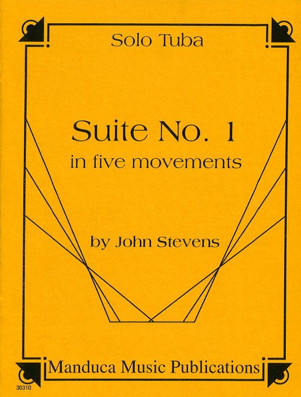 組曲・No.1・第五楽章(ジョン・スティーブンス)(テューバ)【Suite #1 in Five Movements】