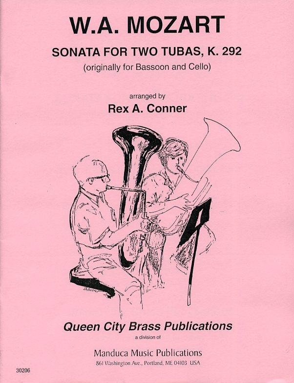 ソナタ・K.292(モーツァルト)(テューバ二重奏)【Sonata for Two Tubas】