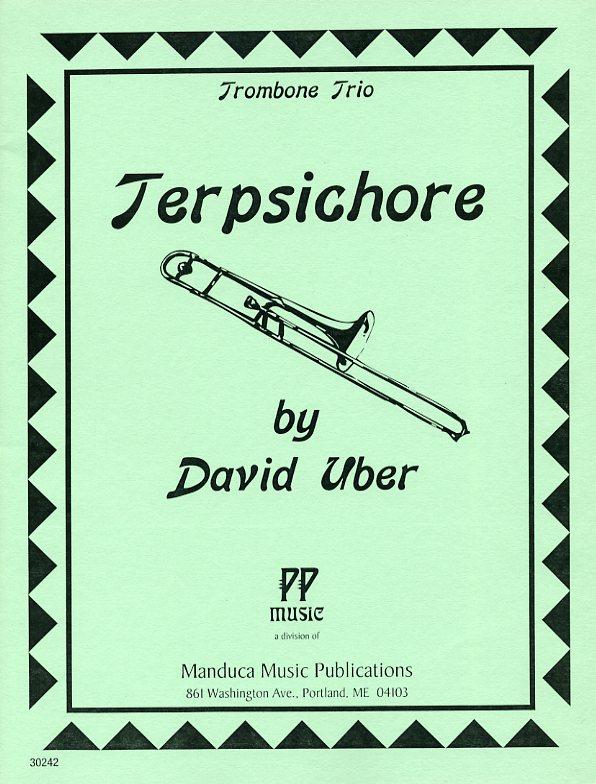 テレプシコーレ(ディヴィッド・ユーバー)  (ユーフォニアム三重奏)【Terpsichore】