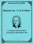 Sinfonia No. 15 in B Minor