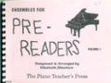 Ensembles for Pre-Readers