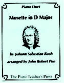 Musette in D Major, J. S. Bach, John Robert Poe