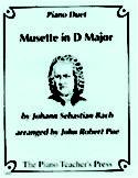 Musette in D Major, J. S. Bach, John Robert Poe