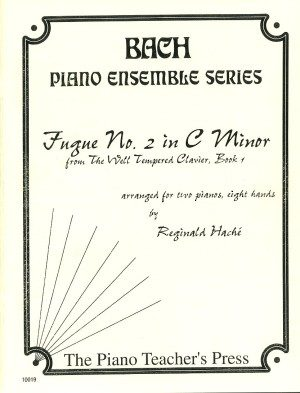 Fugue #2 in C Major for 2-Pianos and 8-Hands, J. S. Bach, Reginald Hache