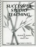 Successful Studio Teaching