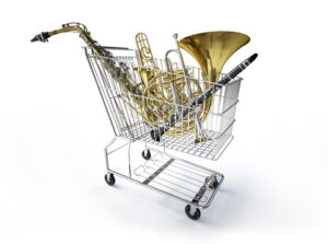 Shopping for Woodwind Sheet music